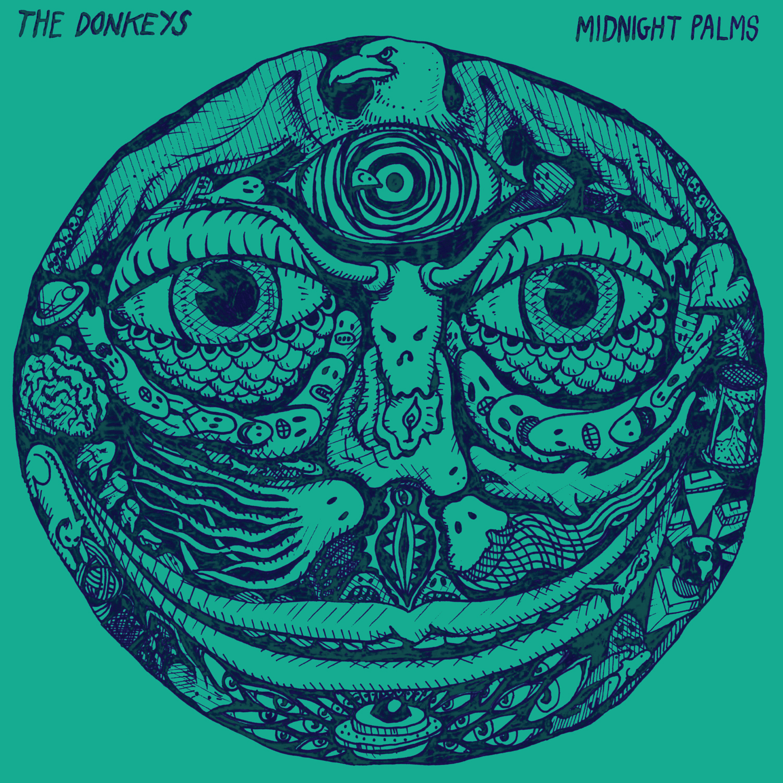 "Donkeys - Mignight Palms 12"" LP"