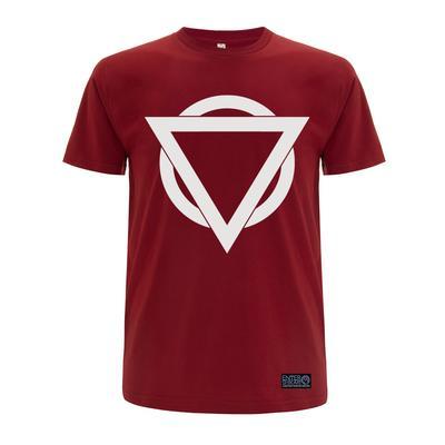 Colour Logo T Shirt (Cardinal Red / Light Grey)