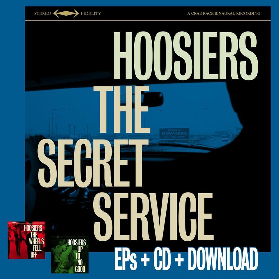 The Secret Service Pre-Order CD Album Only