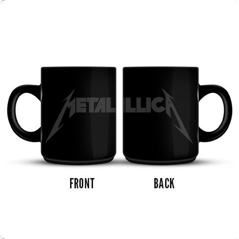 Grey Logo - Black Mug
