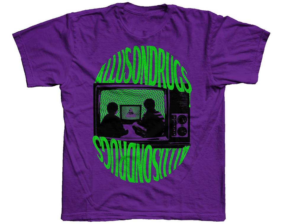 Allusontelly T Shirt [Purple/Green]