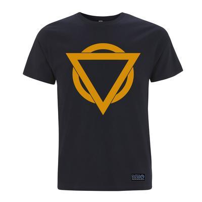Colour Logo T Shirt (Navy / Orange)