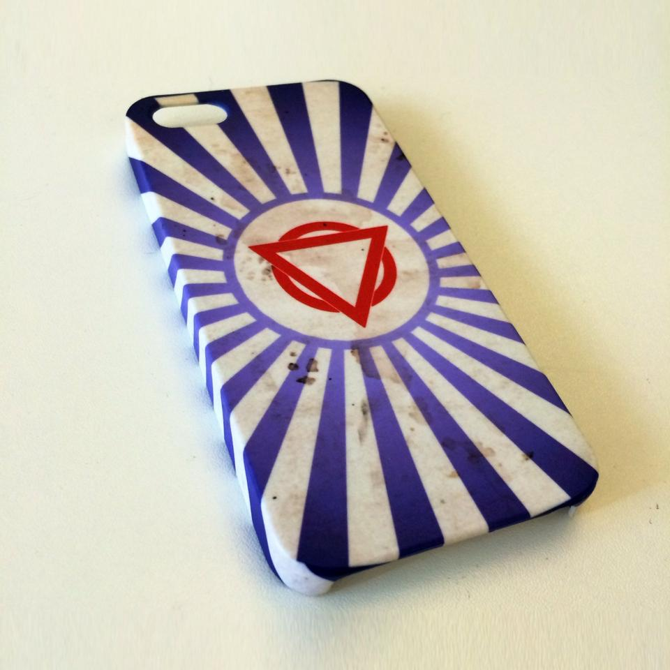 """Knackered Fairground Tent"" Phone Case"