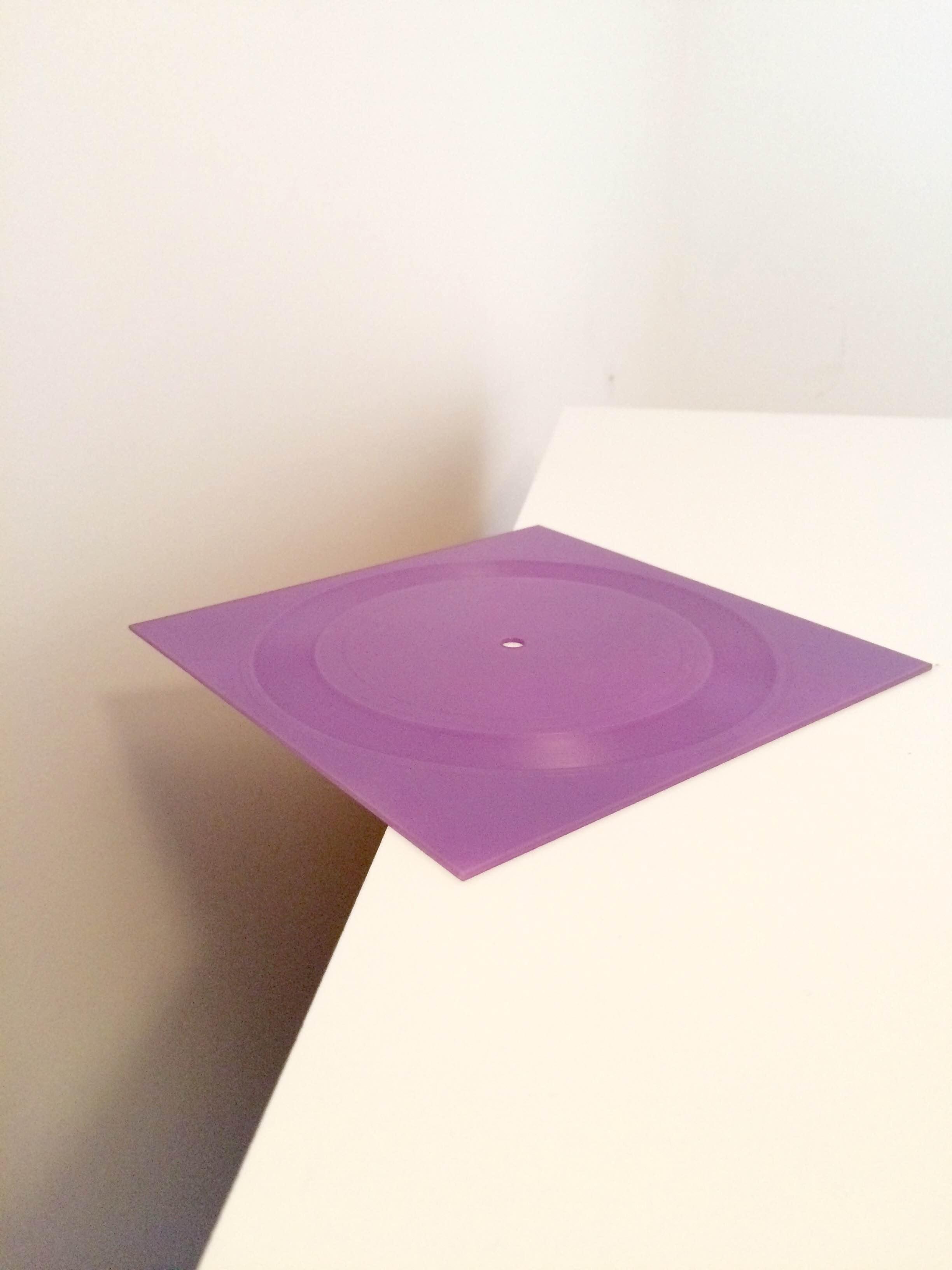 """Semi Precious - Purple Room [7"""" Square Record]"""