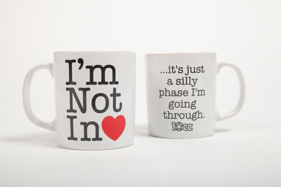 Not In Love China Mug