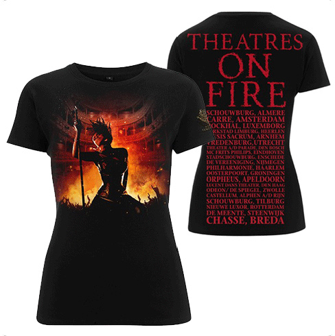 SALE PRICE! Theatres On Fire Tour Girls T Shirt