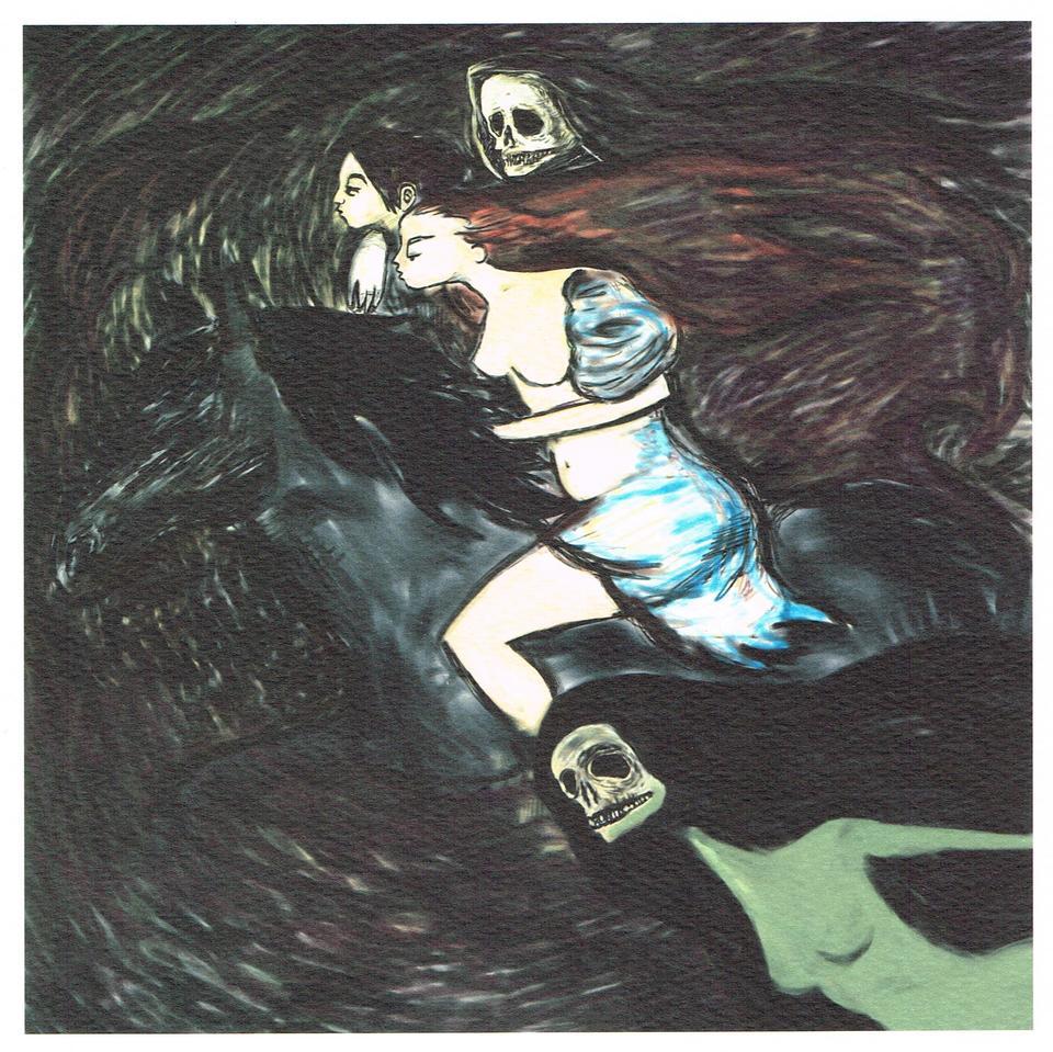 Brave The Storm - Art Print