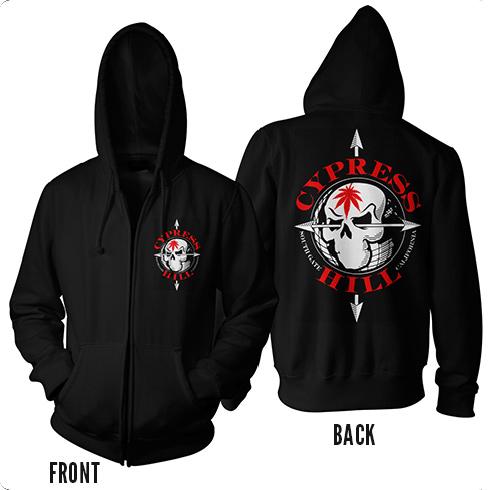 Red Skull - Zip Hood