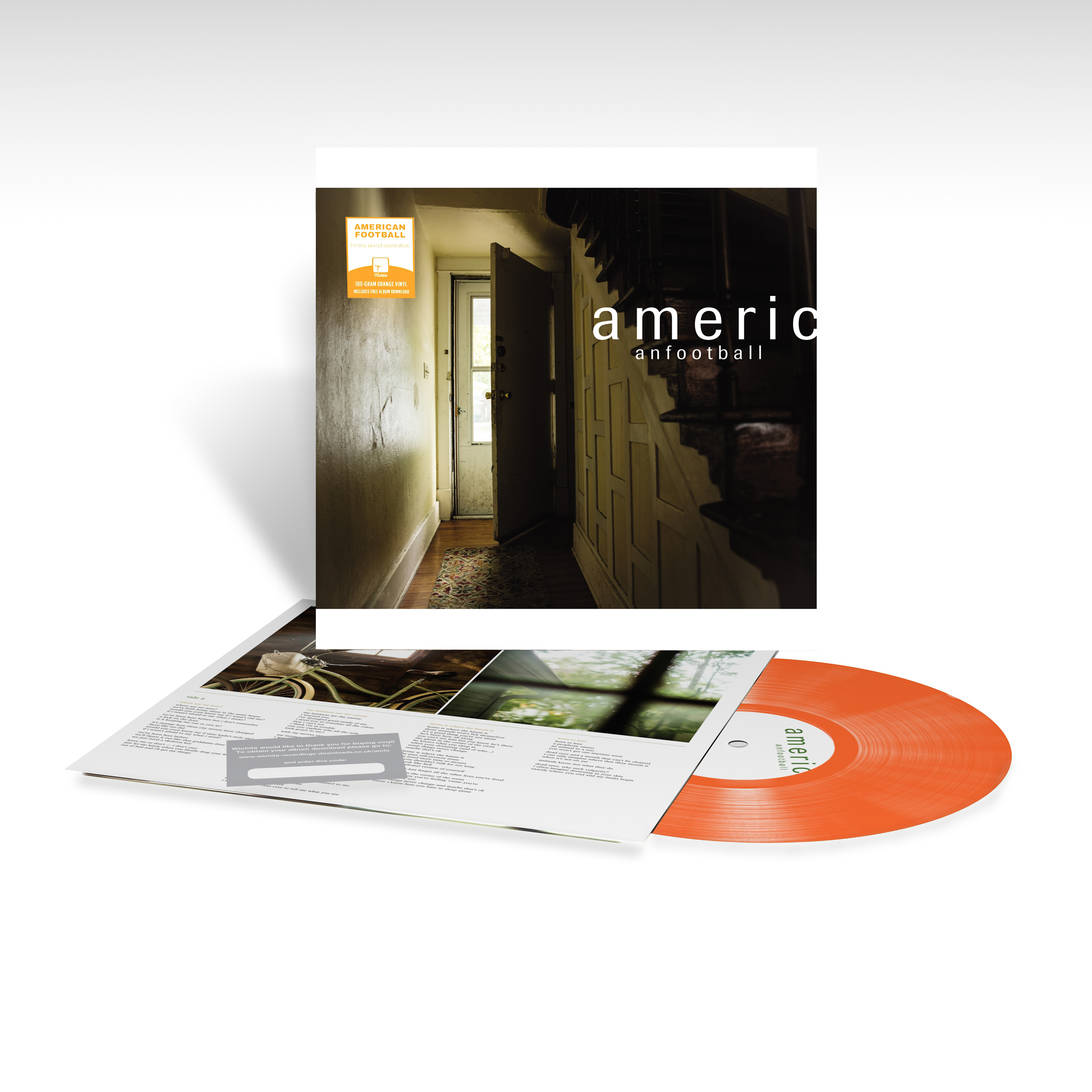 American Football LP (Orange Vinyl)