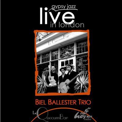 "Biel Ballester Trio double album ""Gypsy Jazz Live in London"""