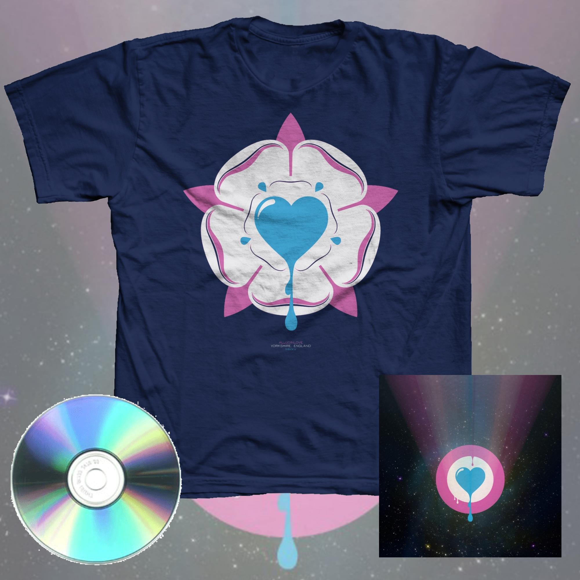 Am I Weird? CD + Sunset Yellow Ltd Handpainted CD + T Shirt