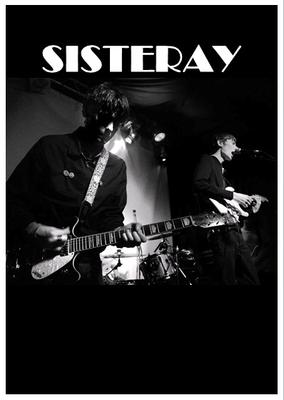 Sisteray 'Live' Poster. Signed