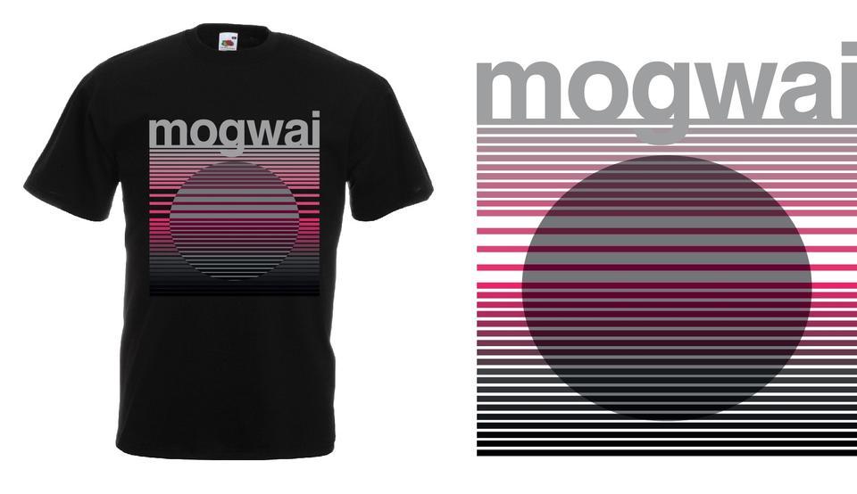 Mogwai Sunset Tshirt