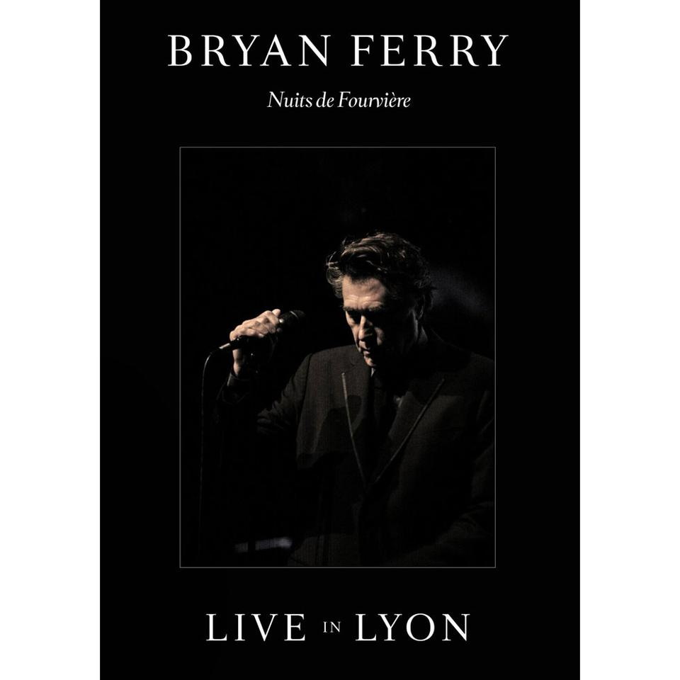 Bryan Ferry 'Live in Lyon' Deluxe Edition DVD + CD