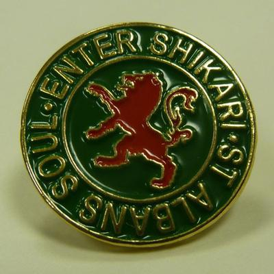 Enter Shikari Lion Badge - Green (enamel)