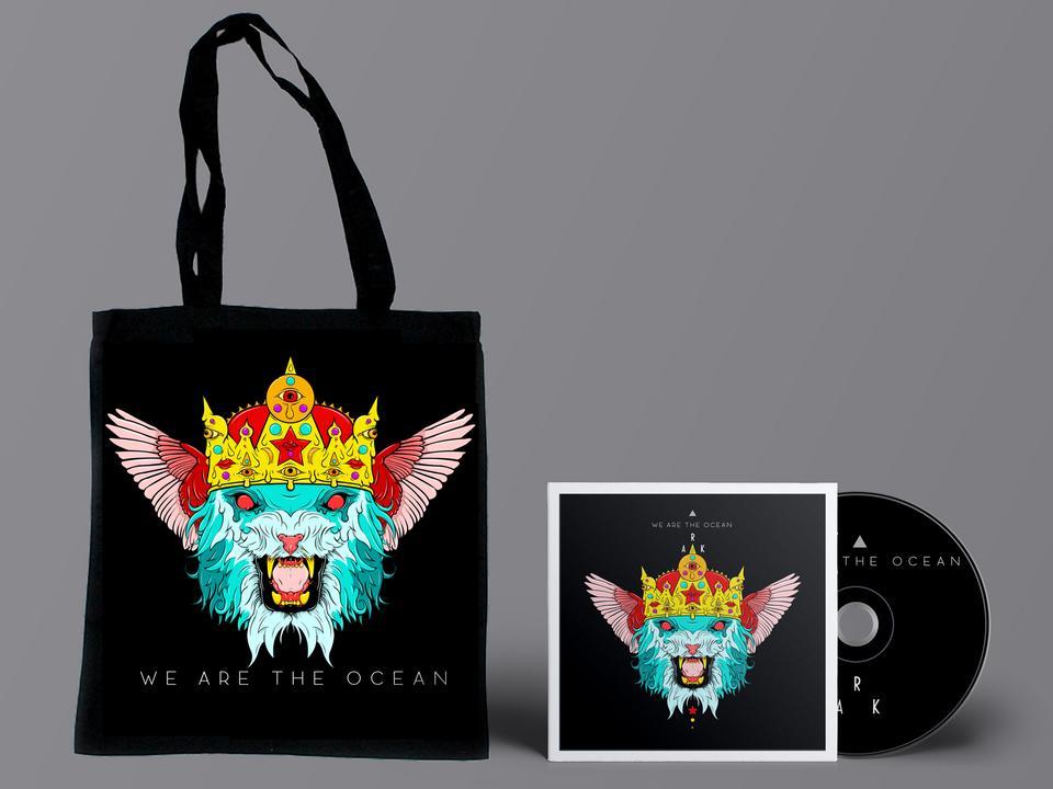 ARK ALBUM BUNDLE - CD OR MP3 + TOTE BAG