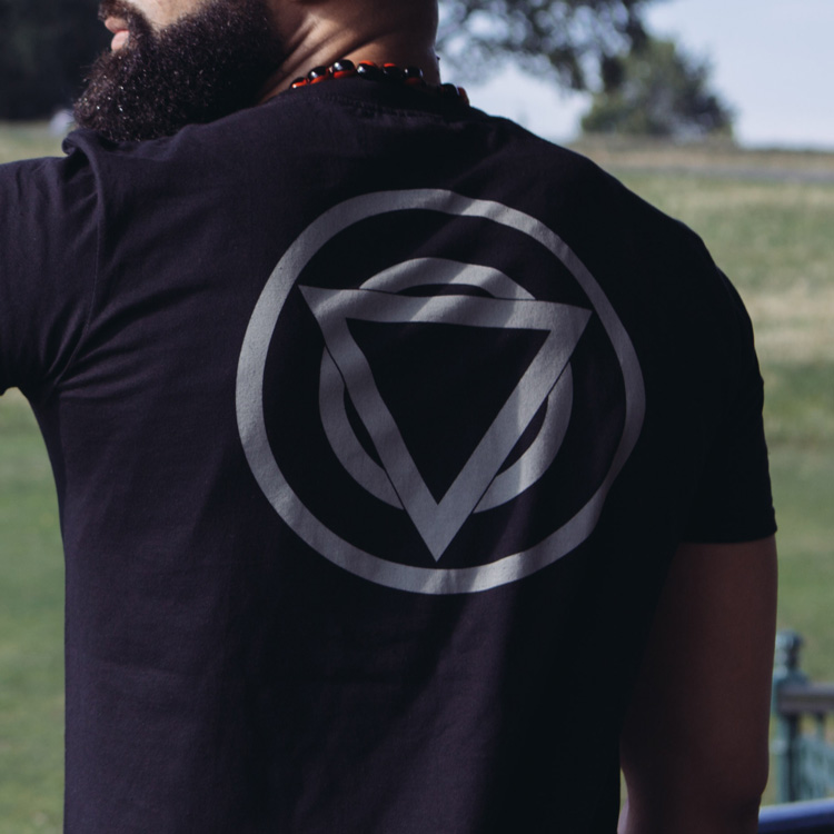 TEAM SHIKARI - BLACK T-SHIRT