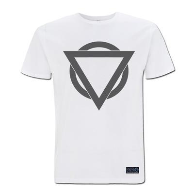 Colour Logo T Shirt (White / Charcoal)
