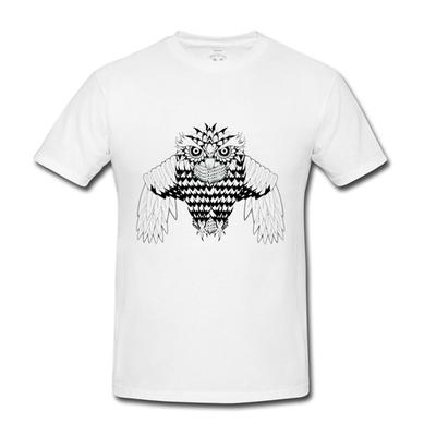 Creatures - Owl T-Shirt (White)