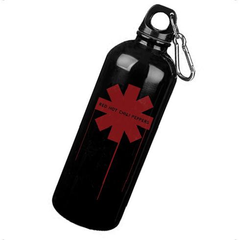 Drip Asterisk - Aluminium Bottle (with carabiner)