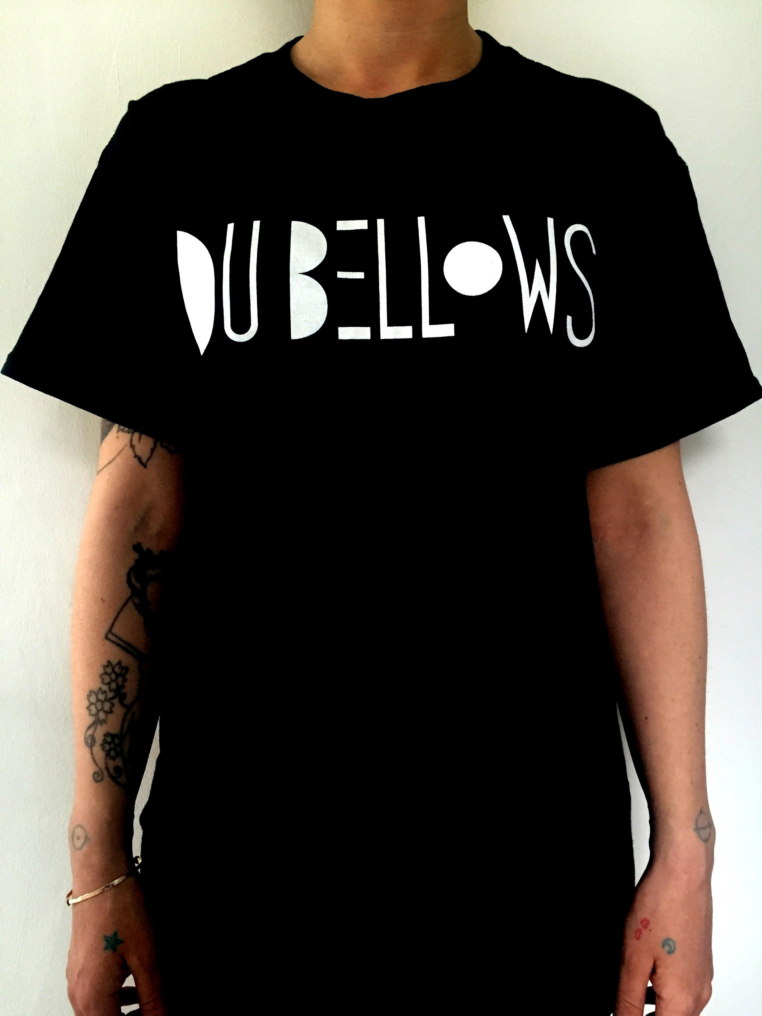 Du bellows on music glue for Alchemy design t shirts