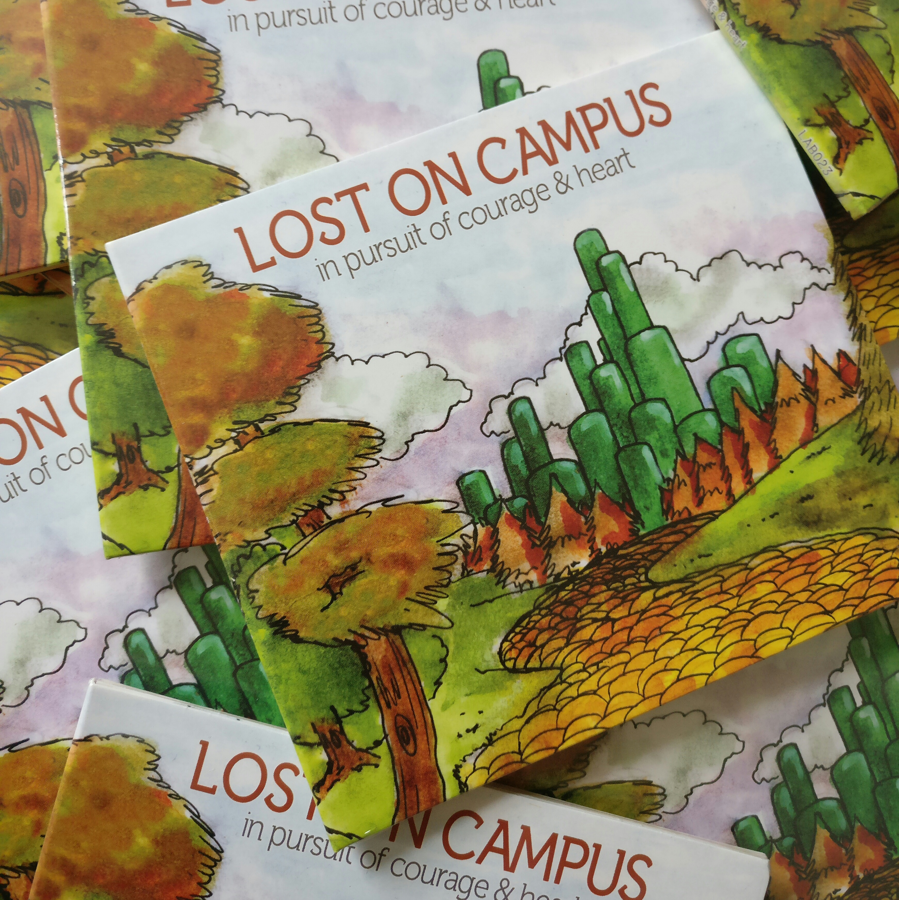 Lost On Campus - In Pursuit Of Courage & Heart EP CD