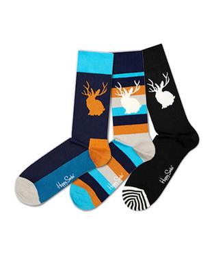 Mens Three Pack Of Socks