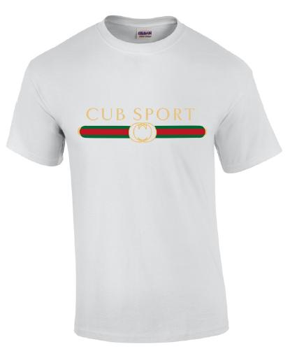 Cub Sport White Short Sleeve Emblem