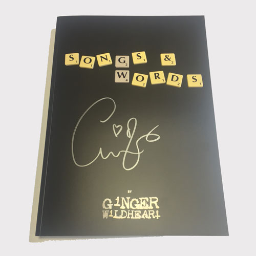 Songs & Words The Book ** Autographed **