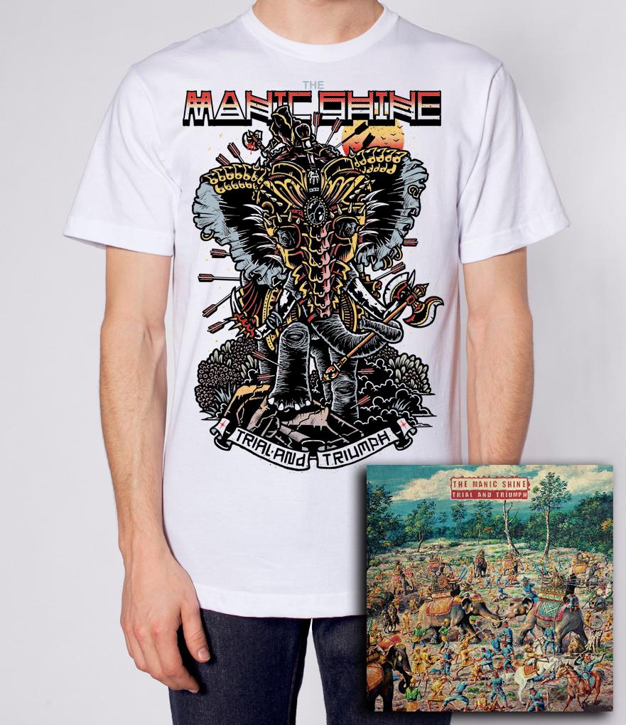 T-Shirt & Album Bundle (White)