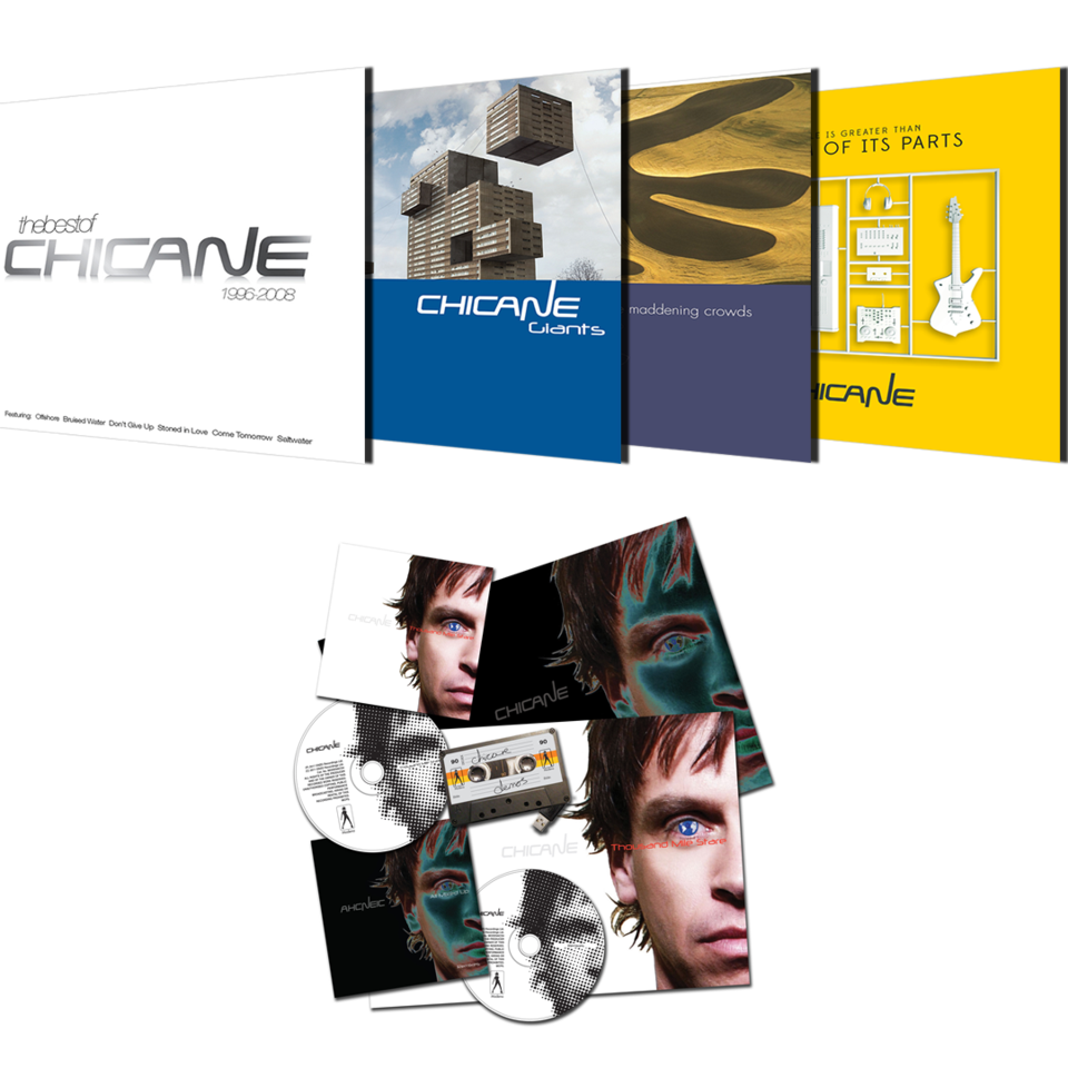 Chicane CD Bundle + TMS Collectors Edition