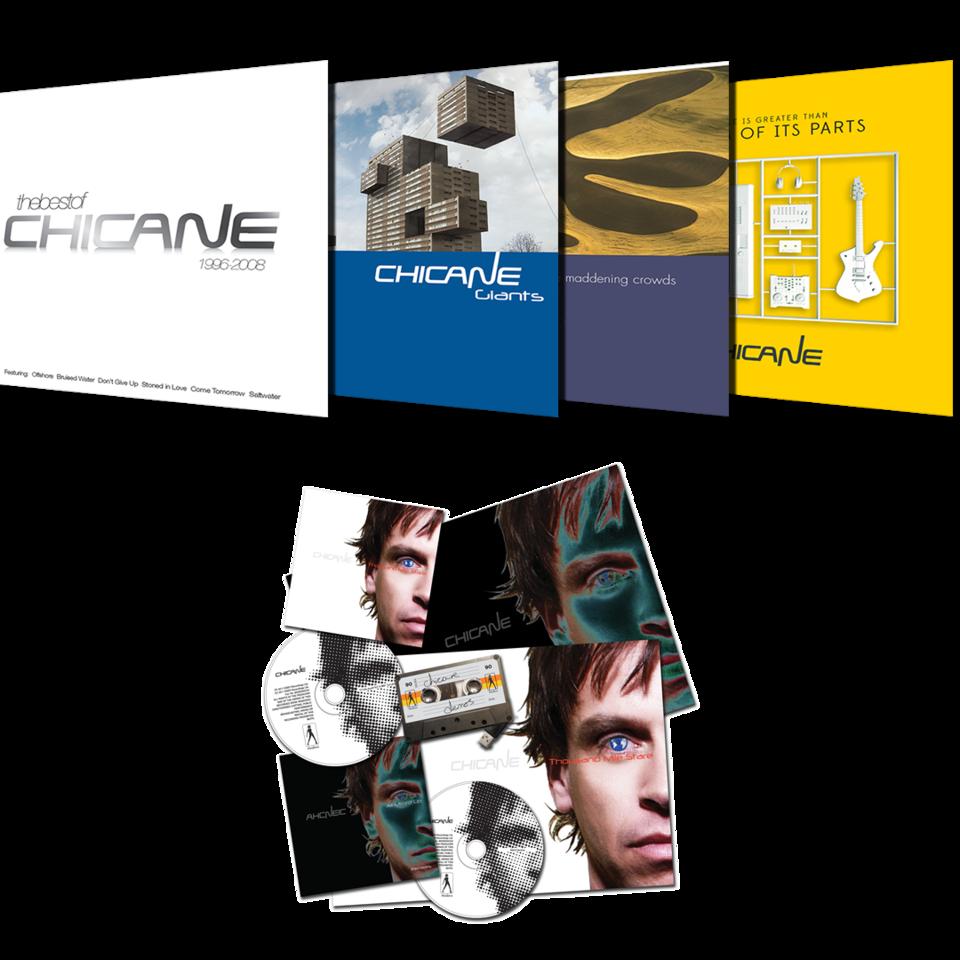 Chicane CD Bundle + TMS Collectors Edition