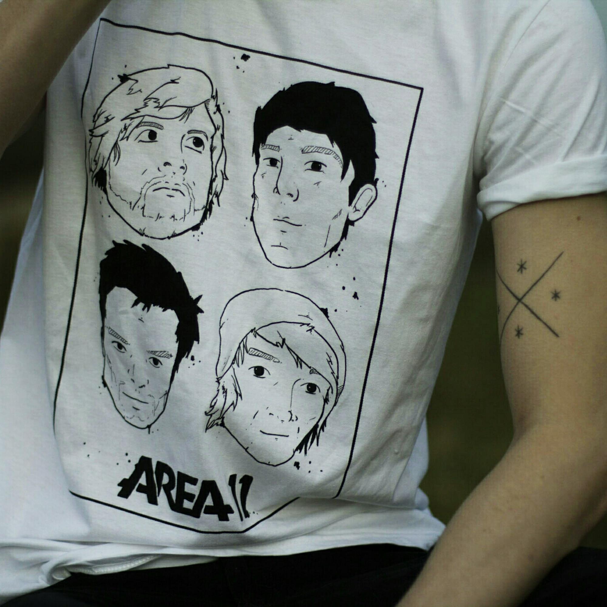 Faces T-Shirt - White
