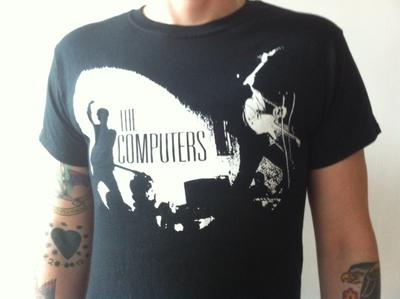 'The Computers'  Black Tee