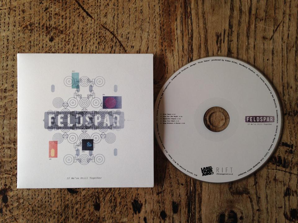 Blue Feldspar T-Shirt + 'If We're Still Together' EP