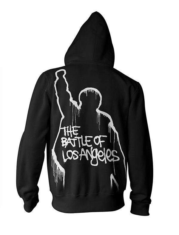 Battle Of Los Angeles - Black Zip Hood