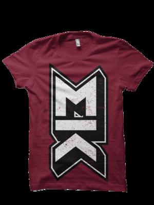 MK Burgundy T-Shirt