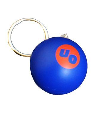 Logo Stress Ball Keyring