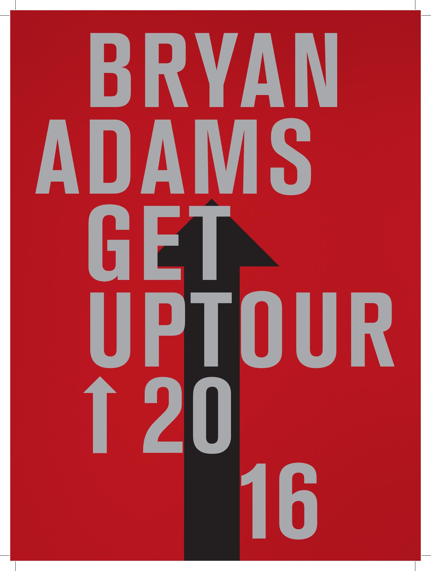 Programme - Get Up Tour 2016